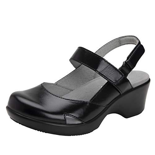 Alegria Tarah Womens Shoe Jet Luster 10 M US