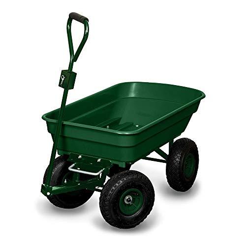 OSE Chariot de Jardin/bûches 4 Roues - 120 kg