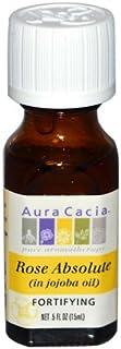 Aura Cacia Rose Absolute In Jojoba Oil 0.5 Fluid Ounce - 5 Units
