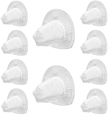 10 Pack Replacement Vacuum Filters for Black and Decker VF110 Dustbuster Cordless Vacuum,Compatible with Black and Decker Hand Vacuums CHV1410L CHV1210 CHV1410 CHV1510 Part 90558113.