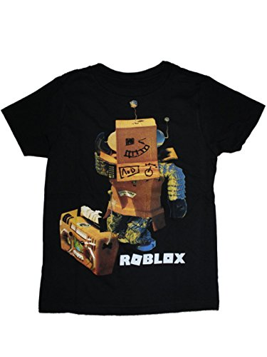 Roblox Boys T-Shirt 4-16 (XL (14/16)) Black