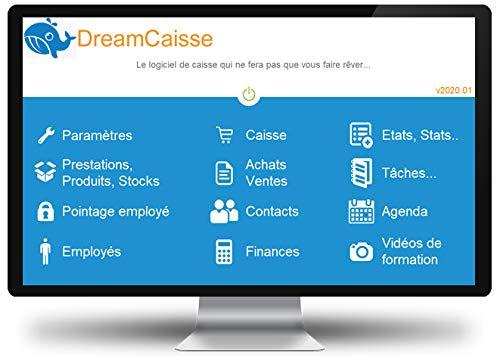 DreamCaisse 2020 - Logiciel de caisse tout commerce