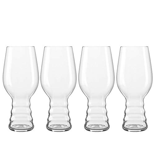 Spiegelau & Nachtmann, 4-teiliges Kraftbier-Glas-Set, India Pale Ale, Kristallglas, 4991382, Craft Beer Glasses