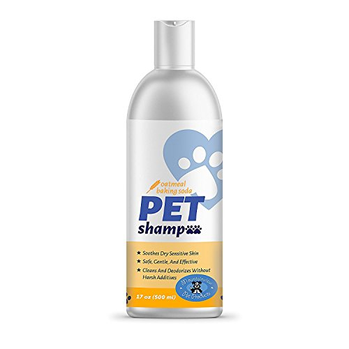 Mountainview Pet Products Oatmeal Shampoo for All Pets, Makes Pet Odor...