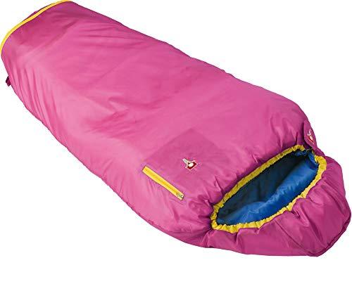 Grüezi-Bag 05756 Mitwachsender Mumienschlafsack für Kinder | Ultraleicht, Atmungsaktiv, Pflegeleicht | (Rosa, M)