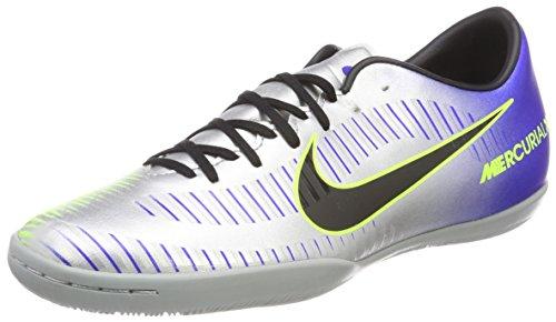 Nike Herren MercurialX Victory VI Neymar IC Fitnessschuhe, Mehrfarbig (Racer Blue/Black-Chr 407), 45 EU