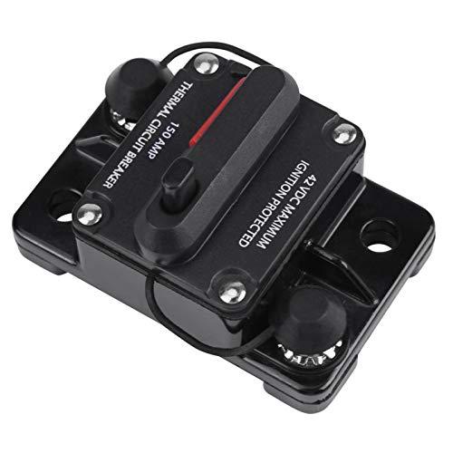 Protección contra sobretensión Disyuntor de CC Disyuntor de audio para automóvil Disyuntor de audio monopolar Disyuntor en línea para audio estéreo de automóvil(150A)