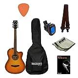 Ibanez MD39C-NT 39' Cutaway Acoustic Guitar… (MD-39CNT Sunburst Bundle)