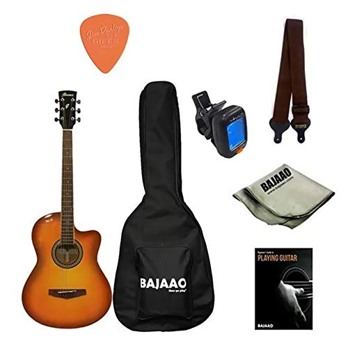"Ibanez MD39C-NT 39"" Cutaway Acoustic Guitar… (MD-39CNT Sunburst Bundle)"