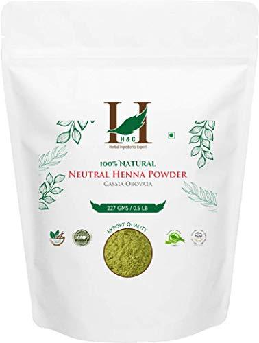 H&C 100% Pure Natural Organically Grown Neutral Henna Powder /...