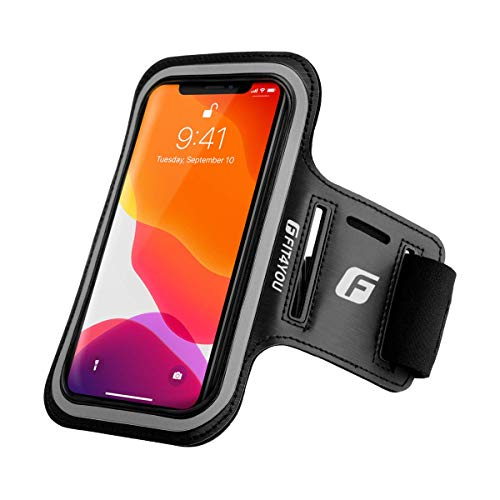 Running Cell Phone Holder for iPhone 12, 12 Pro, 11, X, Xs, 8, 7, 6, 6S, Samsung Galaxy S20, S10, S9, S8, S7, S6, Edge, Plus & LG, Huawei, Google, Sony - Armband Case for Running
