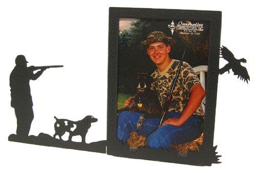 Innovative Fabricators, Inc. Pheasant Hunt & Spaniel 3X5 Vertical Picture Frame