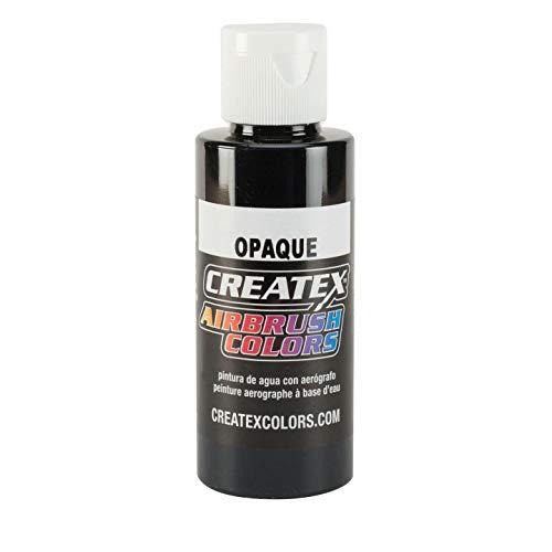 Createx Opaque Airbrush Color, Black, 2 oz