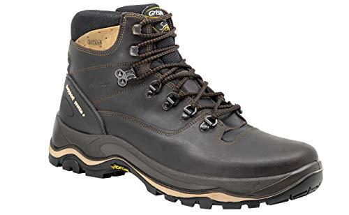Grisport Dakar - Stivali da trekking per uomo e donna, impermeabili, Marrone (marrone scuro.), 41 EU