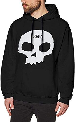 Männer Kapuzenpullover Zero Skateboards Single Skull Mens Long Sleeve Hoodie Sweatshirts Casual Men's Hoodies Black Personality top