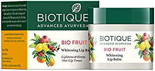 Biotique Bio Fruit Whitening Lip Balm, 12g