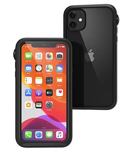 Catalyst - Hülle für iPhone 11 Pro mit transparentem Rückseite, 3 Meter Fallschutz, Truss-Dämpfungssystem, Mute-Schalter, kompatibel mit kabellosem Aufladen, Lanyard, iPhone 11 Pro case - Schwarz