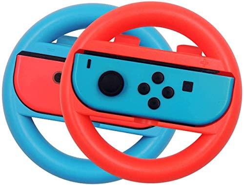 JTMIX Nintendo switch ハンドル Switch マリオカート8 デラックス ハンドル スイッチレーシングゲーム Joy-Conハンドル 任天堂 マリオ Nintendo スイッチ ジョイコン ハンドル Joy-Con ハンドル ニンテン