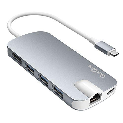 EgoIggo HUB USB C Type-C vers 3 Ports USB 3.0, 2...
