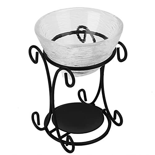 Portavelas Quemadores de aceite horno de aroma horno de incienso aceite esencial para interiores aromaterapia horno para quemar velas para el hogar dormitorio spa decoración de yoga regalo