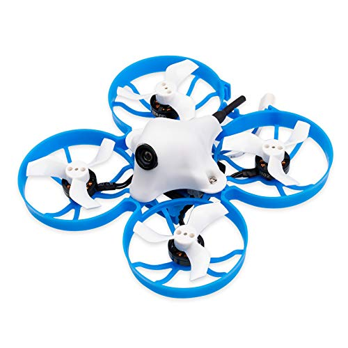 BETAFPV Meteor75 1S Brushless Whoop Drone Frsky FCC D8 with BT2.0 Connector F4 AIO 1S FC 18000KV 1102 Motor C01 Camera for Tiny Whoop Micro FPV Racing Whoop Drone Quadcopter