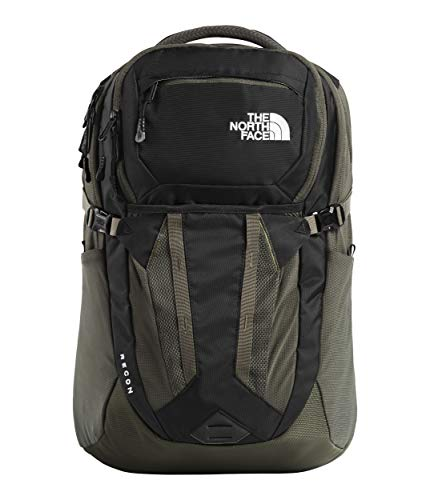 The North Face Recon Mochila, TNF Black/New Taupe Green, One Size