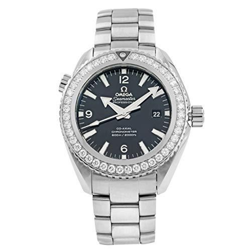 Omega Seamaster Planet Ocean Reloj automático para hombre con diamantes 232.15.46.21.01.001