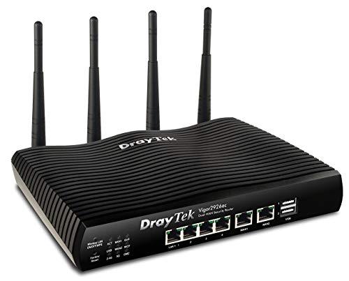 Dray Tek Vigor 2926ac Dual-WAN Security-Router schwarz