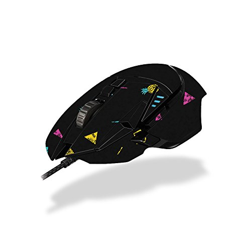 MightySkins Skin Compatible with Logitech G502 Proteus Spectrum Gaming Mouse - Magic Pineapple | Protective, Durable, and Unique Vinyl wrap Cover | Easy to Apply, Remove | Made in The USA
