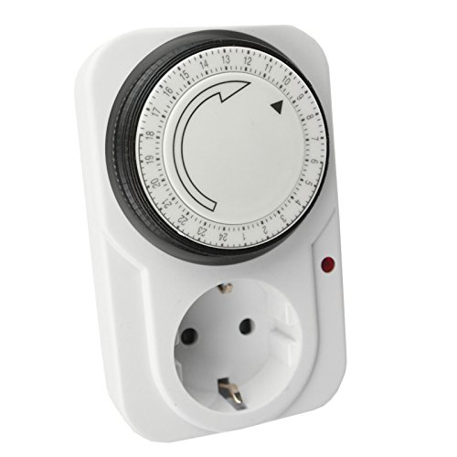 Timer, orologio analogico con timer 24 ore