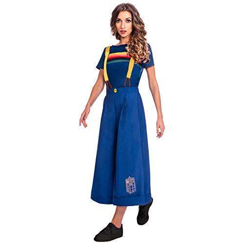 amscan 9905878 - Disfraz de Doctor Who para mujer, multicolor