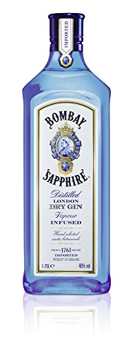 Bombay Sapphire London Dry Gin (1 x 1.75 l)