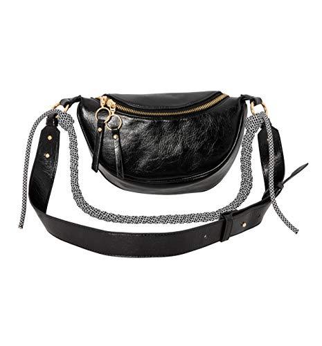 Promod Hüfttasche Schwarz One size