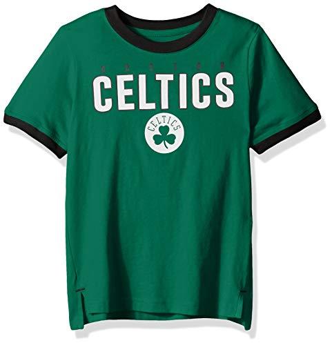 Outerstuff NBA NBA Kids & Youth Boys Boston Celtics Key Short Sleeve Fashion Tee, Kelly Green, Kids Medium(5-6)