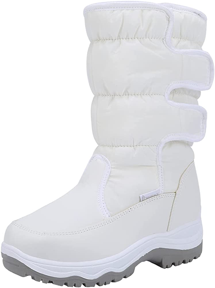 Women's Winter Snow Boots III Fur Frosty Warm Waterproof Lined Attention brand D Easy-to-use