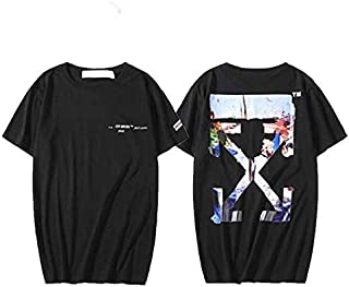 Off- Oil Painting T-Shirt Unisex Hip hop Tee For Men and Women