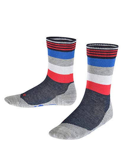 FALKE Kinder Socken Active Fox - Baumwollmischung, 1 Paar, Blau (Marine 6120), Größe: 31-34
