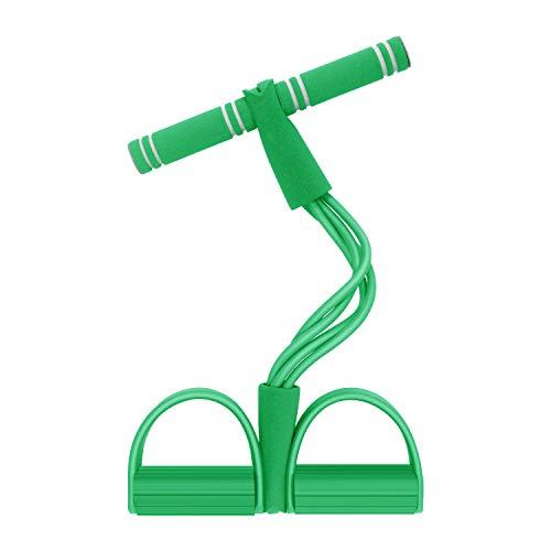Fitness Corda Eelastica per Pedali, Wisdom1674 Pull Rope Pedal Multifunzione Banda di Resistenza Espansore di Body-Building Sit-up Fitness per Braccia, Addome, Pilates, Yoga