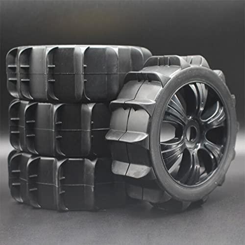 MZWNQ para RC para Neumáticos HSP con Juegos de Ruedas Tipo Arena para Buggy HoBao 1: 8 / Recorrido Corto ( Color : 82b-805-4 )