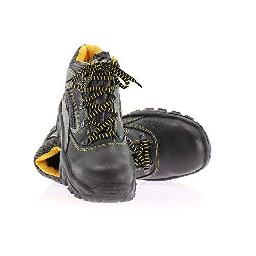 COFRA - Calzado de protección de cuero y tela para hombre, color, talla 39