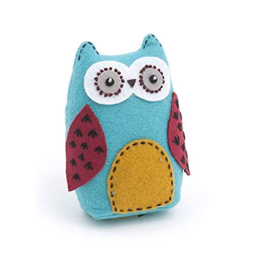 Hobby Gift PCO95 HOBBYGift - Cojín para alfileres con tela de algodón suave, multicolor, 12 x 8.5 x 4.5cm