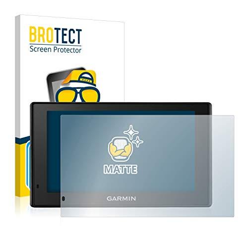 BROTECT 2X Entspiegelungs-Schutzfolie kompatibel mit Garmin DriveSmart 51 LMT-D Displayschutz-Folie Matt, Anti-Reflex, Anti-Fingerprint