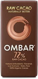 Ombar Dark 72% Raw Chocolate Bar - 35g (0.08lbs)