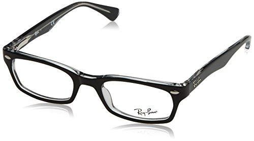 Ray-Ban 5150 Monturas de gafas, Negro, 50 para Mujer