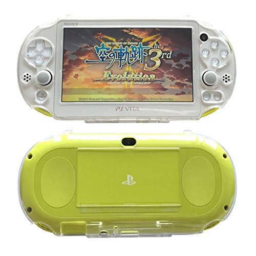SNNC Playstation Vita 2000 Full Cover Skin Crystal Clear Hard Case for PSV2000