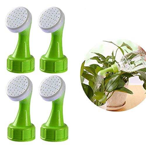 Gießaufsatz für Flaschen 4 Stück Flasche Top Waterers, Sprinkler Kopf für Gießkanne Bewässerung Flasche Tops Haushalt Bewässerung Werkzeug für Pflanzen in den Töpfen