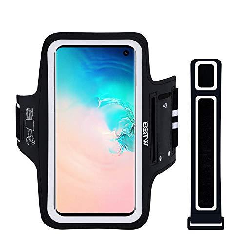 Handyhülle Laufen, EOTW Sportarmband Handyhülle universell Kompatibel mit Samsung Galaxy S10/Note 10, iPhone 11/11 Pro Max/XS Max, Huawei P30 Lite/Pro Oberarm Handytasche für Joggen (5''-6,5