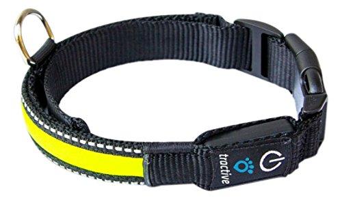 Tractive LED Hundehalsband