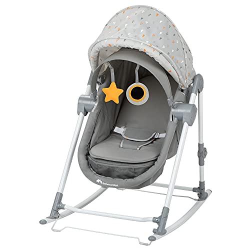 Bebe Confort Calys - Dondolo 3 in 1, utilizzabile dalla nascita fino a circa 9 mesi, colore: Grigio caldo