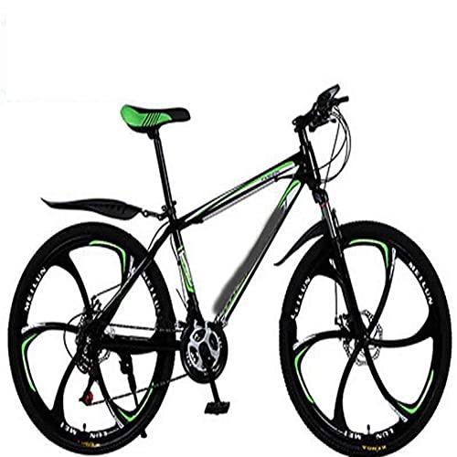 WXXMZY 26 Inch 21-30 Speed Mountain Bike   Male And Female Adult Bicycle Mountain Bike   Double Disc Brake Bicycle Mountain Bike (Color : E, Inches : 24 inches)